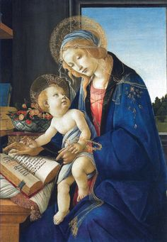 Sandro Botticelli - Virgin and Child (The Madonna of the Book)
