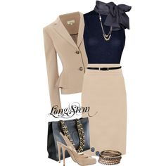 A business fashion look featuring MANGO blouses, Linea jackets and Oasis skirts. Browse and shop related looks.