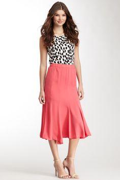 Lapis Panel Skirt I'd add a belt