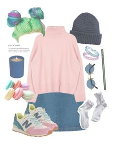 """""""CANDY (lion) HEART"""" by xxbohemian-saillxx ❤ liked on Polyvore featuring interior, interiors, interior design, home, home decor, interior decorating, A.P.C., New Balance, H&M and Topshop"""