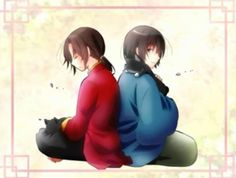 Hetalia - China and Japan