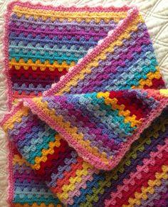 simple pattern, beautiful colors
