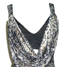 Vestido mini - animal print con top incorporado $ 250.0 - Luz Lila