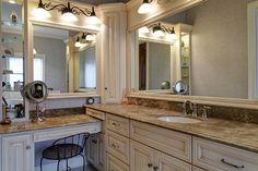 Columbus_Master Bath Vanity Area - traditional - bathroom - columbus - McCandlish Interiors