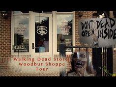 Follow Me Around: Walking Dead's Woodbury Shoppe Tour - YouTube