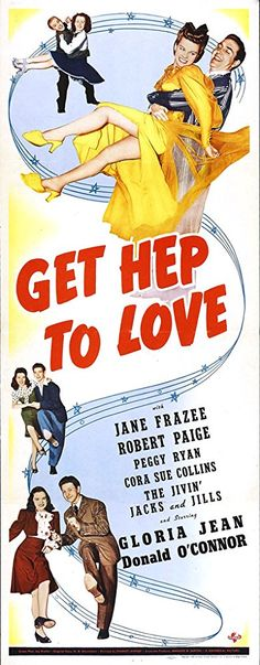 Jane Frazee, Gloria Jean, Donald O'Connor, Robert Paige, and The Jivin' Jacks and Jills in Get Hep to Love (1942)