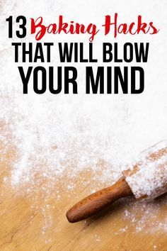 13 Baking Hacks That Will Blow Your Mind - Get to know these life changing baking hacks to change the way you whip, roll and decorate!