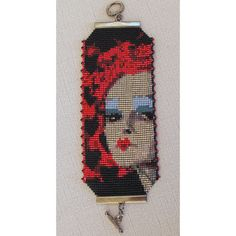 Beading Pattern Peyote Loom  The Red Queen  by FunBeadingDesigns, $4.00