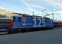 "Rhätische Bahn (RhB), Ge 4/4 II 623 ""Bonaduz"", Chur (GR)"
