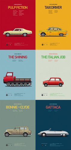 1: Cars and Films | Star Vehicles: Check Out Hollywood's Most Iconic Cars | Co.Design: business + innovation + design