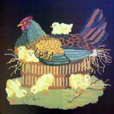 This is the nex Elizabeth Bradley needlepoint I want to do: Mother hen -