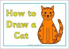 Hoe teken je een poes