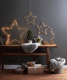 ikea weihnachten LED shooting star Not merely solemnly, actually clever will soon be there for Christmas. Because also the mild chain i Ikea Christmas, Nordic Christmas, Winter Christmas, Star Christmas Lights, Xmas Lights, Christmas Inspiration, Home Decor Inspiration, Diy Crafts To Do, Ideas Hogar