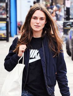 Keira Knightley in London