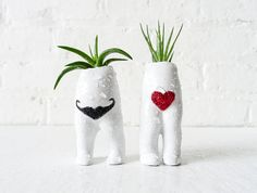 Planters with feet!