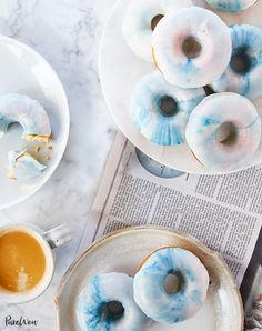 Watercolor Doughnuts