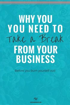 5 Reasons Why You Need to Take a Break From Your Side Hustle. Click through to read the details and learn how you can take a break as an online business entrepreneur. Learn To Run, How To Start A Blog, How To Make Money, Blog Writing, Writing A Book, Take A Break, Take That, Parenting Articles, Parenting Tips