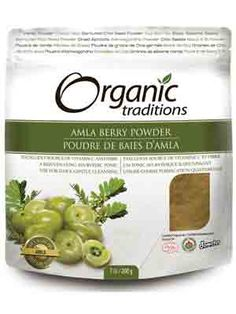 Organic Traditions Amla Powder 200g - adding this to my morning smoothie has almost eliminated keratosis pilaris!