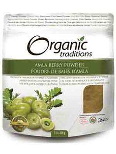 Organic Traditions Amla Powder 200g - adding this to my morning smoothie has almost eliminated keratosis pilaris!