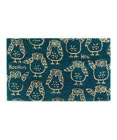 Blue Owl Doormat