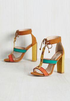 Machi Footwear Starring Stroll Heel