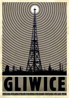 Gliwice Radio Tower, Polish Promotion Poster