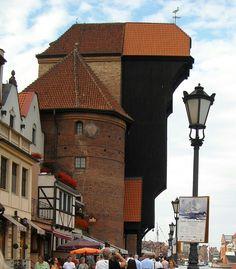 Gate Żuraw in Gdańsk, Poland