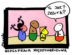Współpraca międzynarodowa... Peanuts Comics, Snoopy, Fictional Characters, Art, Art Background, Kunst, Fantasy Characters, Art Education