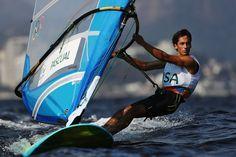 Pedro Pascual, 19, USA. Men's Sailing RS:X Class.