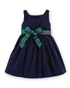 Corduroy Dress & Bloomer - Baby Girl Dresses & Skirts - RalphLauren.com