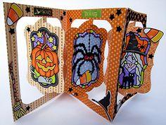 Halloween Card Trio | Elizabeth Craft Designs