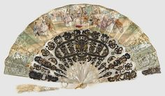 An entire collection of gorgeous 19th century fans from all over the world! (Philadelphia Museum of Art)