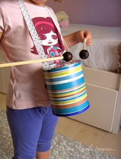 musical instruments Musical Instrument Crafts for Kids - Kids Art & Craft Kids Crafts, Recycled Crafts Kids, Projects For Kids, Toddler Crafts, Drums For Kids, Music For Kids, Recycling For Kids, Diy For Kids, Instrument Craft