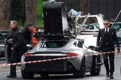 SPECTRE filming in Rome