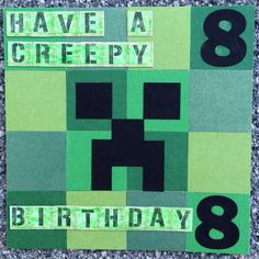 Minecraft card / RellB @ The Creative Mum
