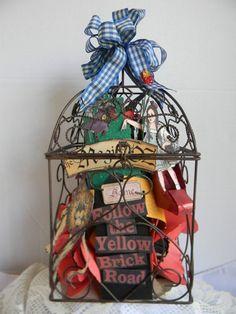 Wizard of Oz Bird Cage