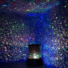 Bring the beauty of the nightsky into your child's bedroom every night. Featuring 4 colorful LED lights being projected from a fun and portable nightlight. Glow Stick Jars, Glow Sticks, Glow Jars, Night Light Projector, Led Night Light, Projector Lamp, Cosmos, Glow In Dark Party, Star Master