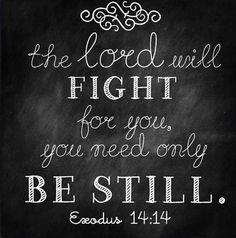 Exudos 14:14