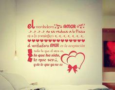 . Vinilo Adhesivo Decorativo Citas de Amor 3 02755