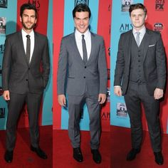 Wes Bentley, Finn Wittrock and Evan Peters - Just some of the men of American Horror Story Freak Show.