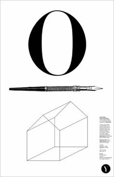 Michael Bierut – Open House Poster for the Yale School of Architecture Graphic Design Posters, Typography Design, Yale Architecture, Architecture Posters, Michael Bierut, Design Observer, Keys Art, Typographic Poster, Commercial Art