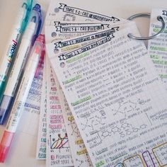 studyrelief : getting ready for my first IB Biology HL test tomorrow (paper 2), followed by my paper 1 and 3 on thursday ! im finding that making these little revision notecards and summarizing the information rly makes understanding concepts easier ! however revision does not necessarily mean success and it's still a difficult subject at heart …