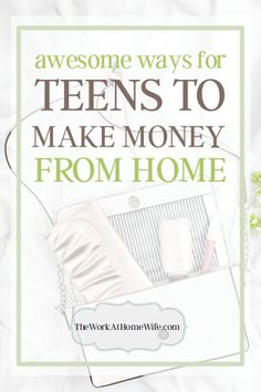 It's always a great time to explore a few ways for teens to make money. There are actually quite a few ways to work from home and online as a teenager.