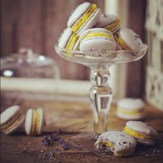 Macaroons grey and yellow:) August wedding colors