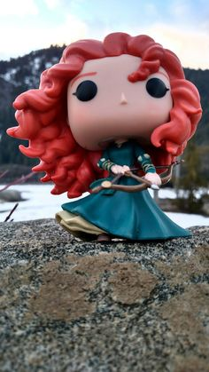 Merida Funko Pop Disney Princess Brave #Funkoprincess #Funko Disney Pop, Arte Disney, Disney Pixar, Pop Marvel, Pop Vinyl Figures, Pop Figures Disney, Funko Pop Display, Funko Pop Dolls, Pop Figurine