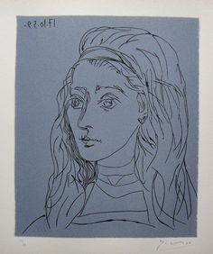 picasso linocuts | PABLO PICASSO, Hand signed Linocut, 1962 : Lot 80
