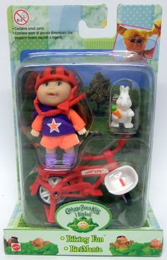 Mattel Cabbage Patch Kids 2.5-inch BIKING FUN 1998