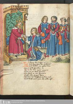 194 [95v] - Ms. germ. qu. 12 - Die sieben weisen Meister - Page - Mittelalterliche Handschriften - Digitale Sammlungen Frankfurt, 1471