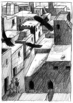 The lost city of Zahir (Kelly Murphy)