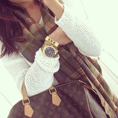 cozy with louis vuitton